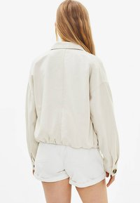 Bershka - Summer jacket - white - 2