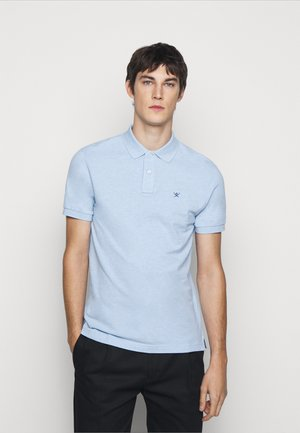 SLIM FIT LOGO - Poloshirts - blue