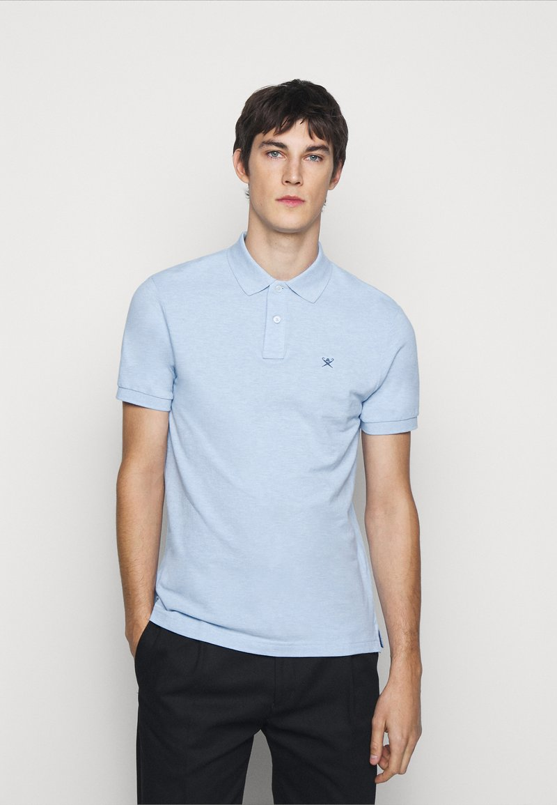 Hackett London - SLIM FIT LOGO - Polo shirt - blue