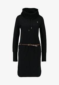 Ragwear - LAURRA - Korte jurk - black - 5
