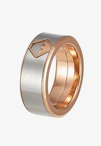 Emporio Armani - Ring - silver-coloured - 4
