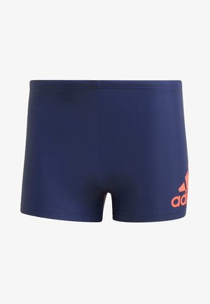 BADGE SWIM FITNESS BOXERS - Uimashortsit - blue/orange