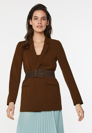 Short coat - cognac