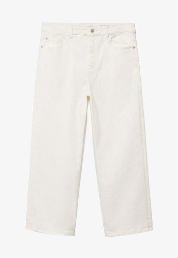 CHARLOTE - Straight leg jeans - weiß