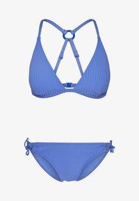 s.Oliver - TRIANGEL SET - Bikiny - blue - 3