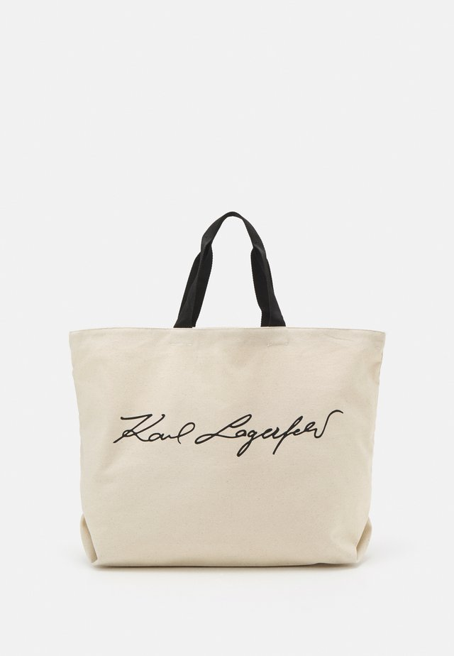 EXCLUSIVE SIGNITURE - Tote bag - off-white