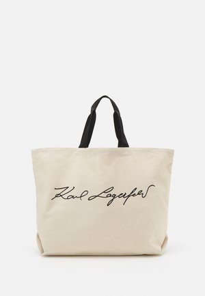 EXCLUSIVE SIGNITURE - Bolso shopping - off-white