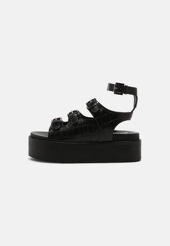 PARKER - Sandals - black