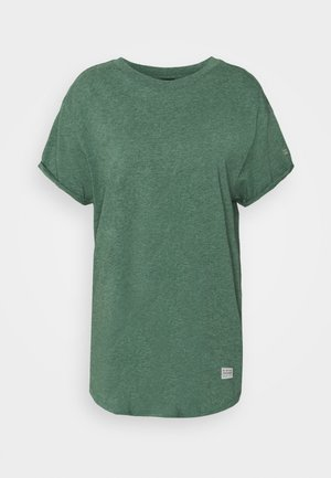 LASH LOOSE - T-shirt basic - cosmo green heather