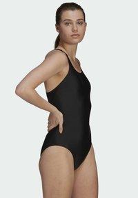 adidas Originals - SH3.RO SOLID S MUST HAVES PRIMEBLUE NYLON SWIM SPORTS FITTED SWIMSUIT - Badpak - black - 5