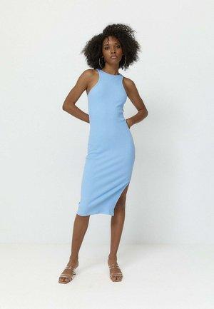 HALTER  - Shift dress - light blue
