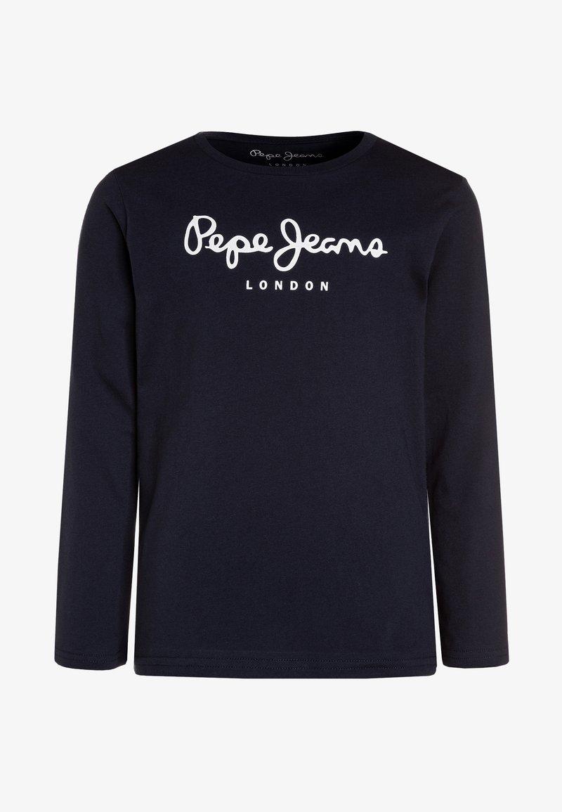 Pepe Jeans - NEW HERMAN  - Long sleeved top - navy