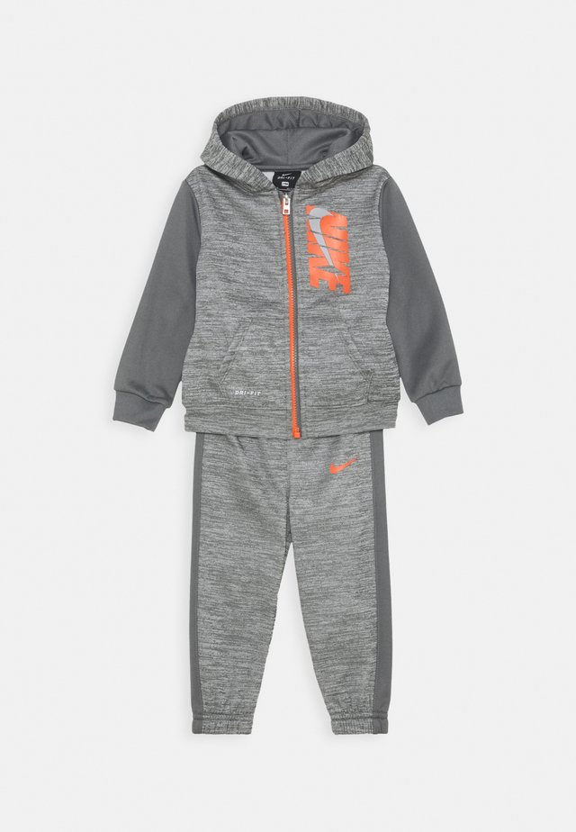 COLORBLOCK THERMA PANT SET - Tracksuit - carbon heather