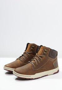 Cat Footwear - COLFAX - Botki sznurowane - dark beige - 2