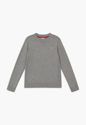 Strikpullover /Striktrøjer - light heather grey