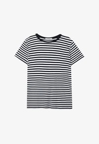 Stradivarius - T-shirt imprimé - black - 4