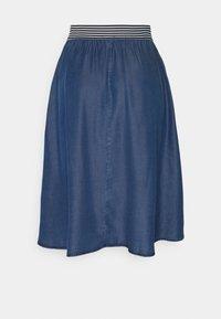 More & More - SKIRT SHORT - A-line skirt - mid blue denim - 1