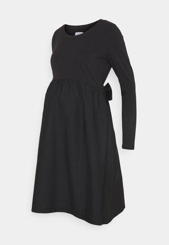 MLCAROLINA MIX DRESS - Jerseykjole - black