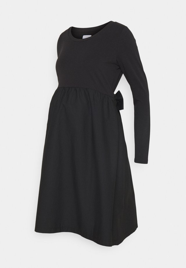 MLCAROLINA MIX DRESS - Robe en jersey - black