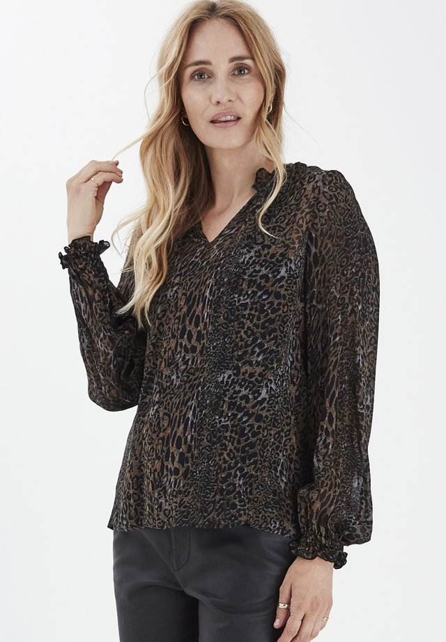 PZAMAYA - Blouse - black printed