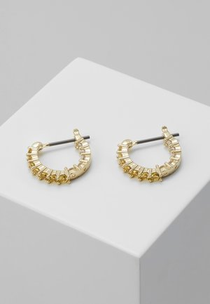 VITTORE HOOP - Earrings - canary yellow