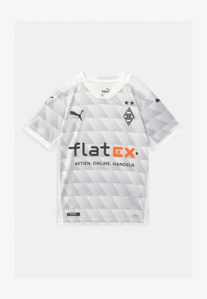 BORUSSIA MÖNCHENGLADBACH HOME SHIRT REPLICA - Club wear - white/gray/violet