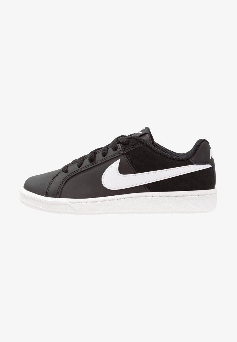 Nike Sportswear - COURT ROYALE - Trainers - black/white