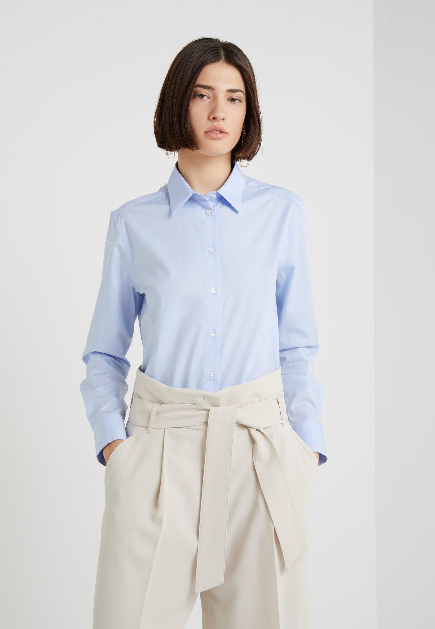 Cool Women's Clothing Filippa K JANE  Button-down blouse blue HL4L6QKKk