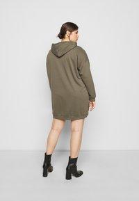 Noisy May Curve - NMHATTIE DRESS CURVE - Day dress - kalamata - 2