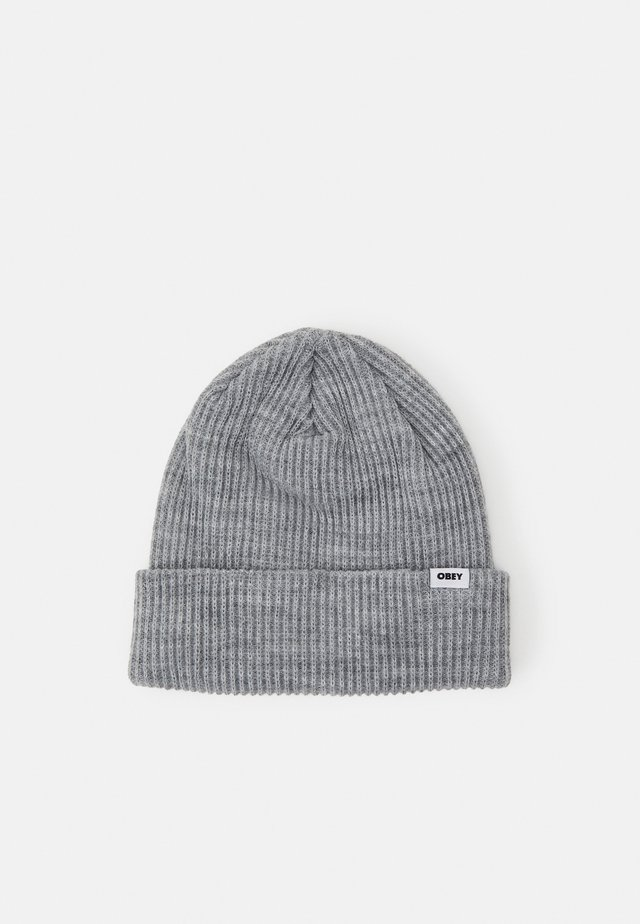 BOLD BEANIE UNISEX - Beanie - heather grey
