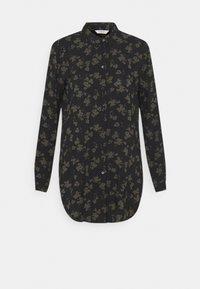 b.young - BYJOSA LONG - Button-down blouse - black - 4