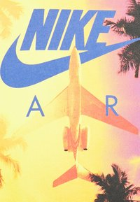 Nike Sportswear - TEE BY AIR PHOTO - T-shirt med print - black - 2
