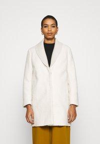 Sisley - COAT - Cappotto classico - offwhite - 0