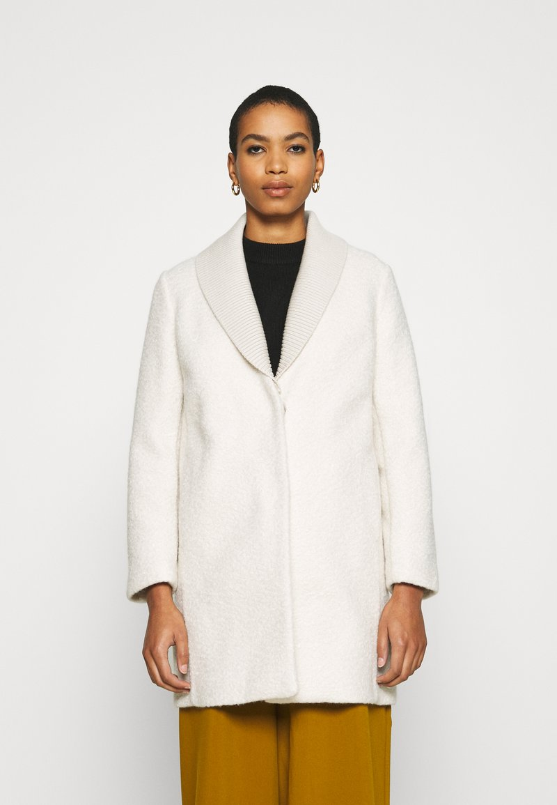 Sisley - COAT - Cappotto classico - offwhite
