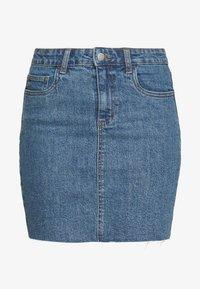 CLASSIC STRETCH MINI SKIRT - Denim skirt - berkley blue