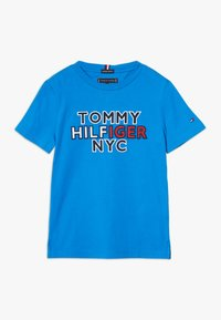 Tommy Hilfiger - GRAPHIC TEE  - T-shirt print - blue - 0