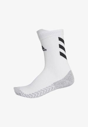ALPHASKIN TRAXION CREW SOCKS - Sports socks - white