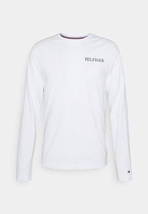 LOGO ON BACK TEE - Maglietta a manica lunga - white