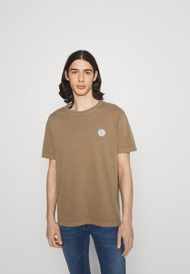 UNO - Basic T-shirt - hazel