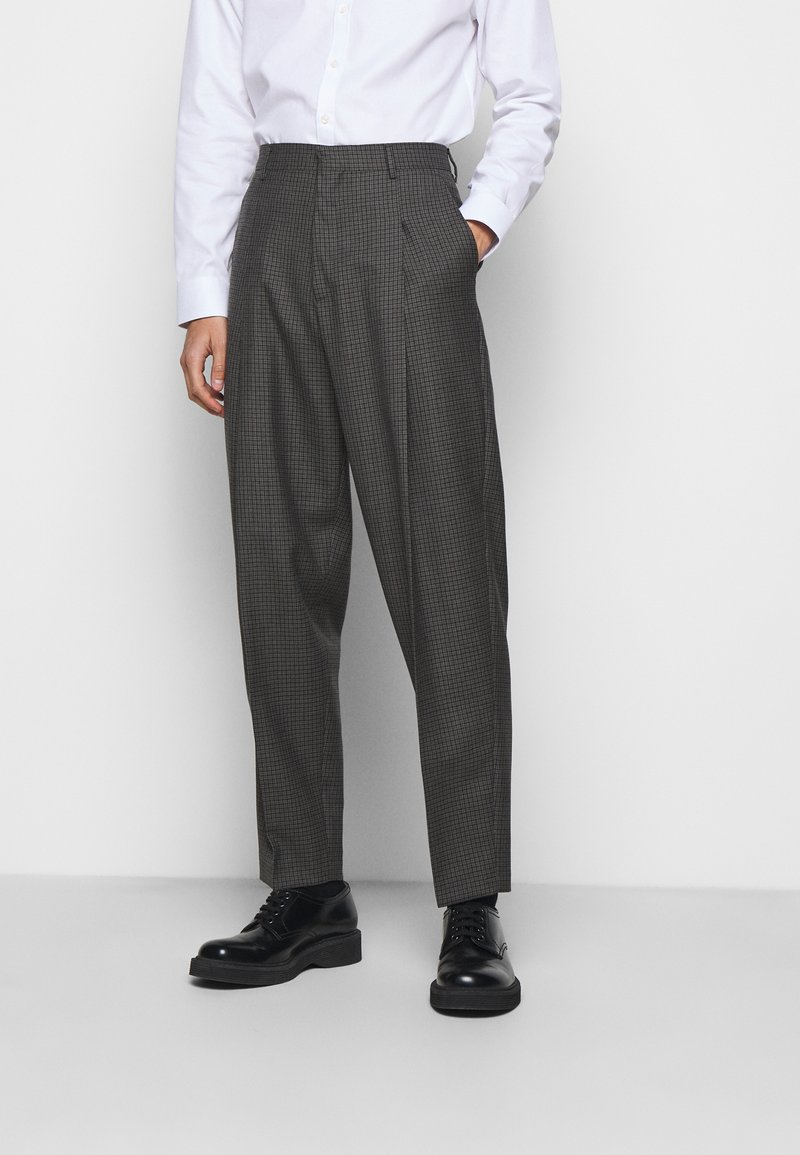 Paul Smith - GENTS FORMAL TROUSER - Oblekové kalhoty - brown