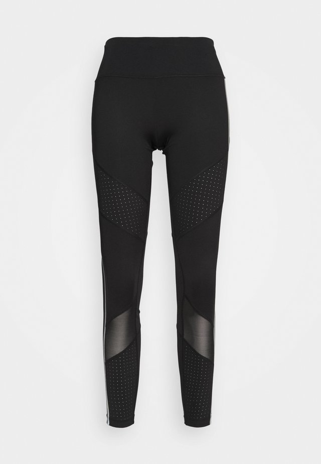 BONDED SEAMS LEGGING - Leggings - black