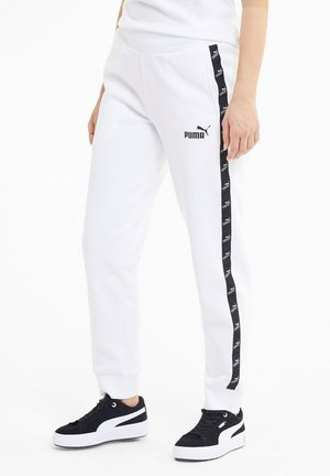 Tracksuit bottoms - puma white