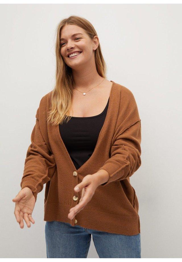 LUCAS - Vest - karamell