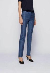 BOSS - TITANA - Pantaloni - blue - 0
