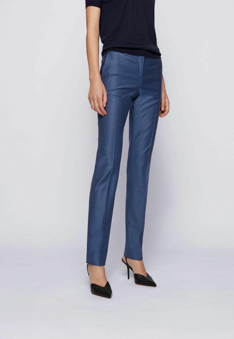 BOSS - TITANA - Pantaloni - blue