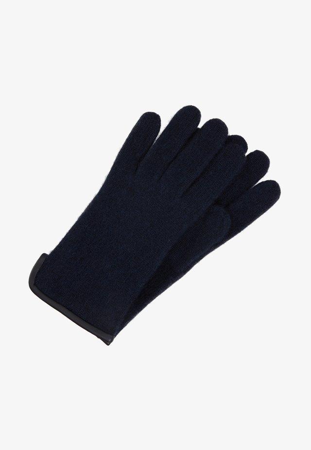 MASCHA - Rękawiczki pięciopalcowe - blue/mysterioso