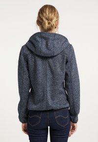 Schmuddelwedda - Zip-up hoodie - marine melange - 2