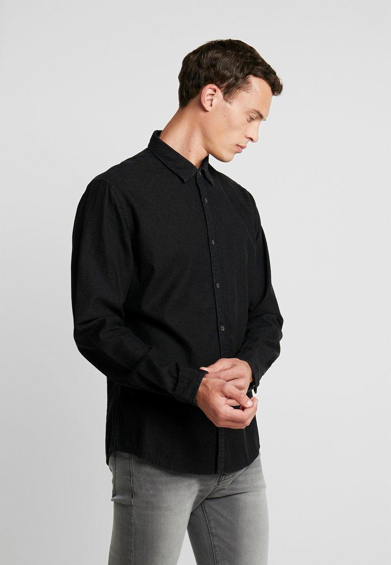 edc by Esprit - Shirt - black dark wash