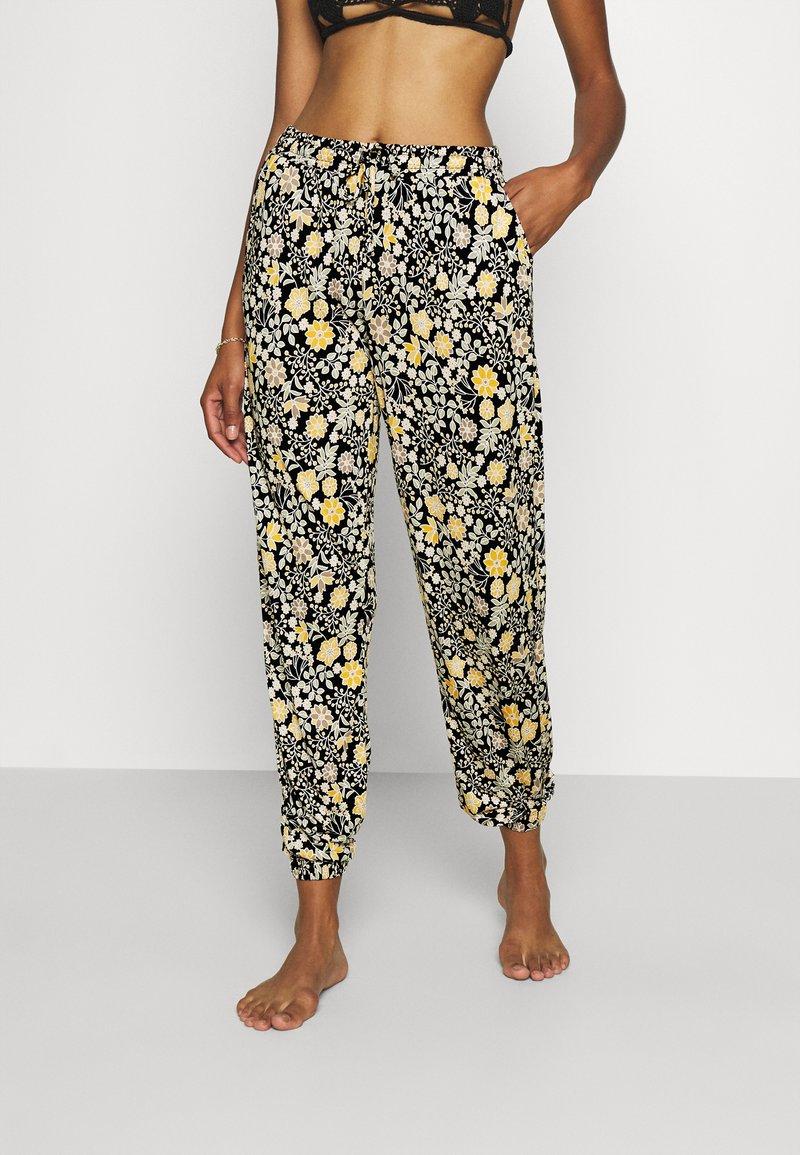 LASCANA - Beach accessory - schwarz-gelb