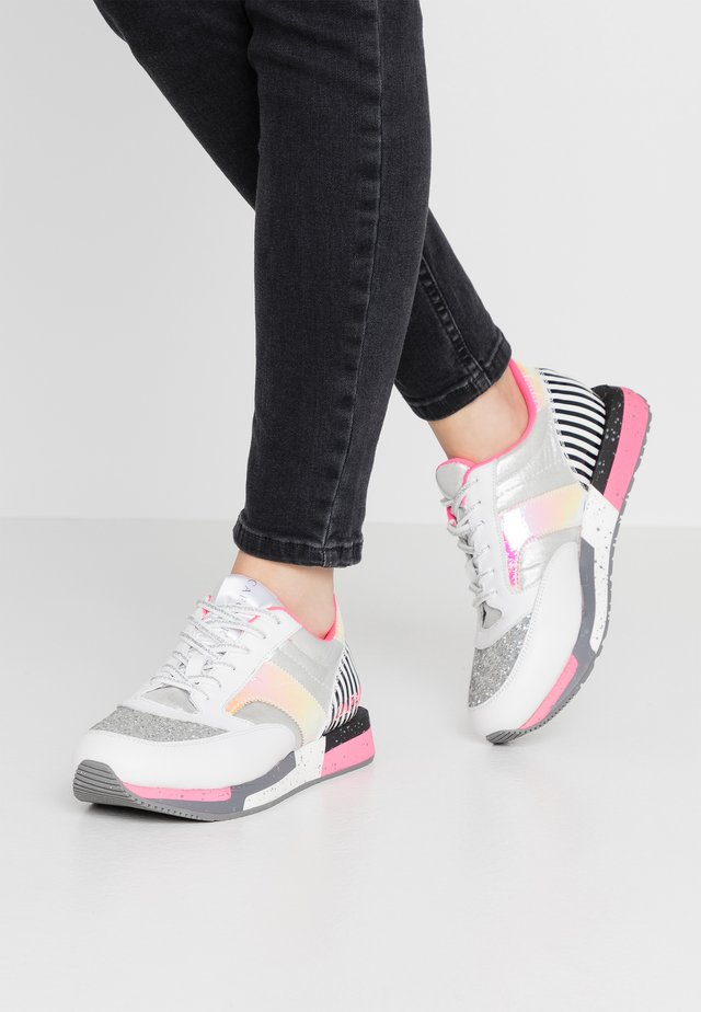 Sneakers laag - multicolor/silver